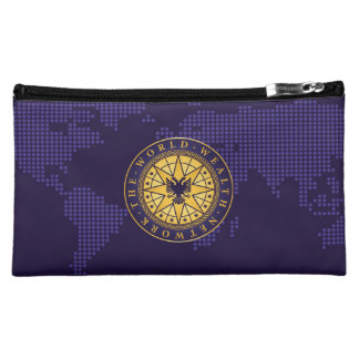 World Wealth Network Cosmetic Bag