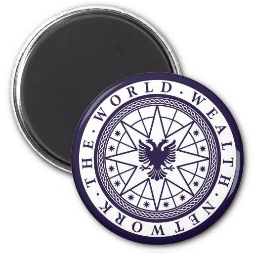 World Wealth Network Fridge Magnets