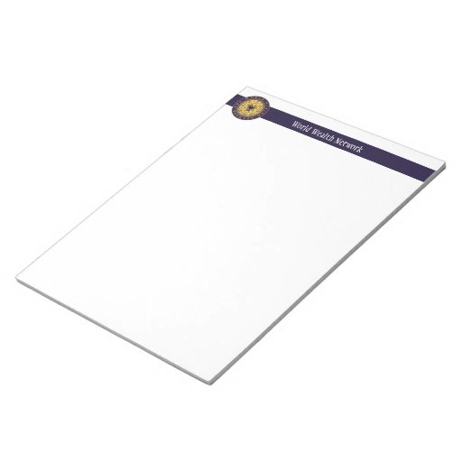 World Wealth Network Memo Notepad