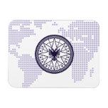 World Wealth Network Rectangle Magnet
