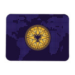 World Wealth Network Rectangle Magnets