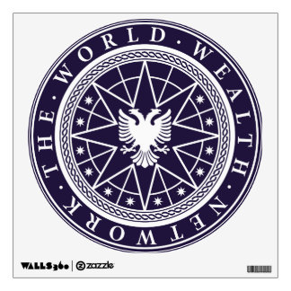 World Wealth Network Wall Sticker