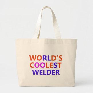 world welder large tote bag
