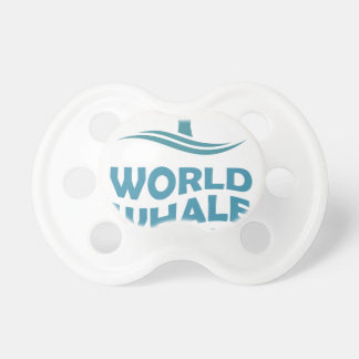 World Whale Day - 18th February - Appreciation Day Pacifier