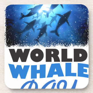 World Whale Day - Appreciation Day Coaster