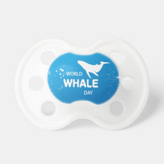 World Whale Day - Appreciation Day Pacifier