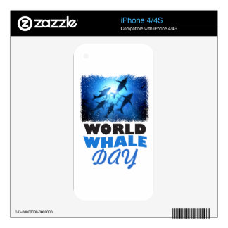 World Whale Day - Appreciation Day Skins For The iPhone 4S