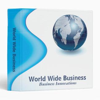 World Wide Business 3 Ring Binder