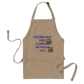 WORLD-WIDE CHAMPION CHURRASQUEIRO 2012 ADULT APRON