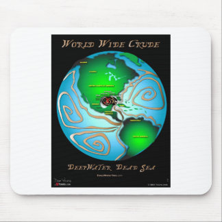World Wide Crude Mouse Pad