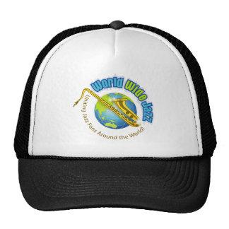 World Wide Jazz Cap Trucker Hat