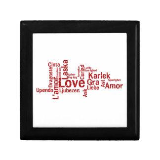 World Wide Love - How the world says Love Keepsake Box