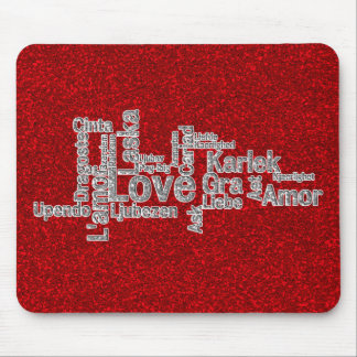 World Wide Love - How the world says Love Mouse Pad