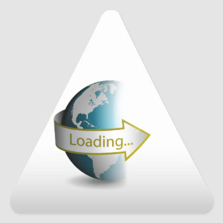 World Wide Web_3 Triangle Sticker