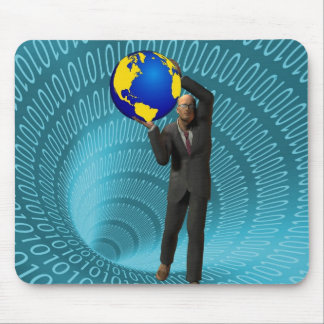 World Wide Web Access Mouse Pad