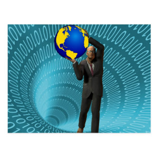 World Wide Web Access Postcard