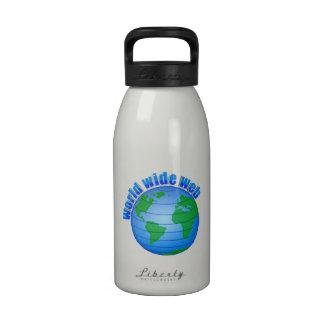 World Wide Web Botella De Beber