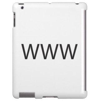 WORLD WIDE WEB .ai Funda Para iPad