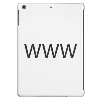 WORLD WIDE WEB .ai Funda Para iPad Air