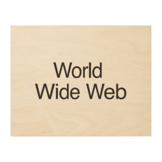 World Wide Web .ai Cuadros De Madera