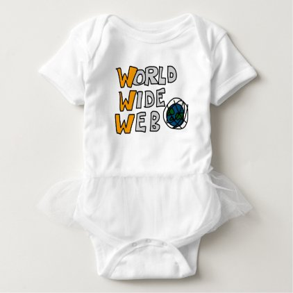 World Wide Web Baby Bodysuit