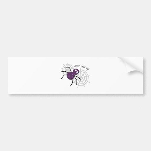 World Wide Web Bumper Stickers