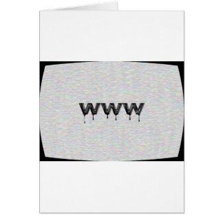 World Wide Web Greeting Card
