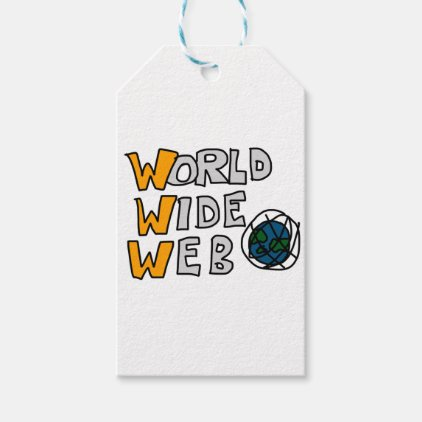 World Wide Web Gift Tags
