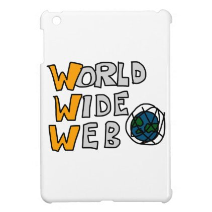 World Wide Web iPad Mini Cover