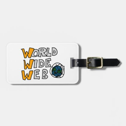 World Wide Web Luggage Tag