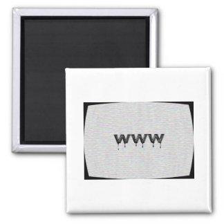 World Wide Web Fridge Magnets