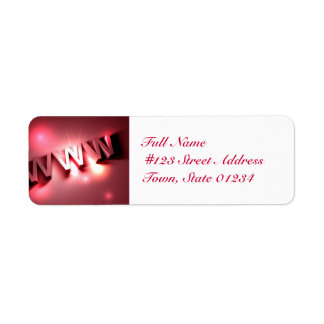 World Wide Web Mailing Labels