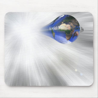 World Wide Web Mouse Pads