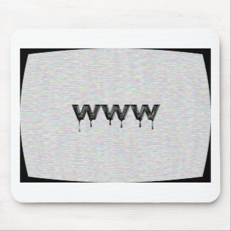 World Wide Web Mouse Pad