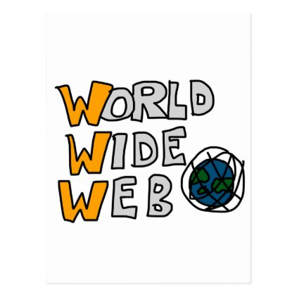 World Wide Web Postcard