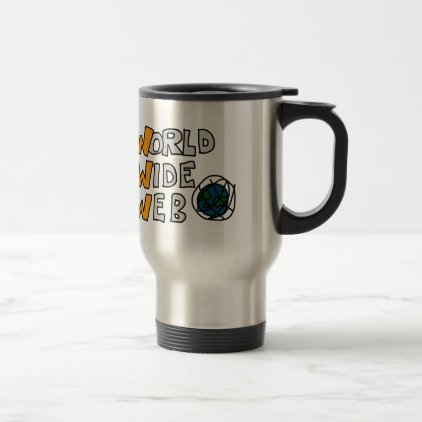 World Wide Web Travel Mug
