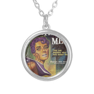 World Without Men Silver Plated Necklace