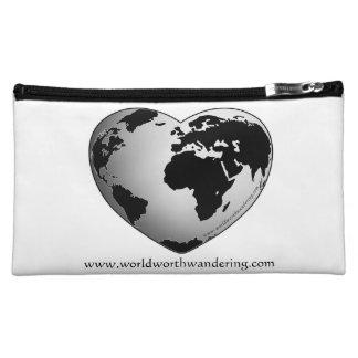World Worth Wandering Travel Cosmetic bag