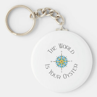 World Your Oyster Keychain