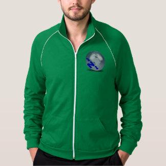 WORLD~Z~:  American Apparel  Fleece Track jacket