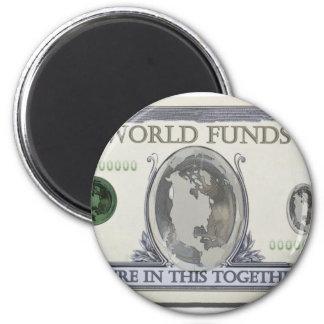 WorldDollars010911 Magnet