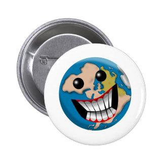 Worldly Smile Pins