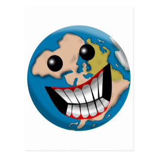 Worldly Smile Post Card