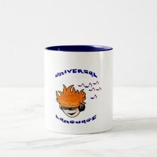 Worldly Two-Tone Coffee Mug