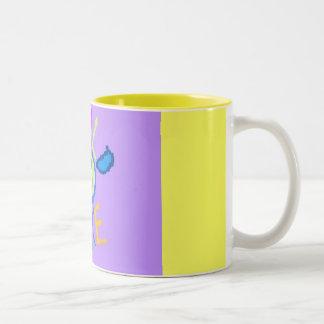 worldpeace Two-Tone coffee mug