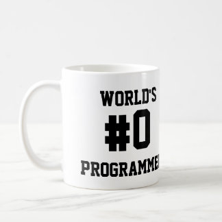 WORLD'S #0 PROGRAMMER COFFEE MUG
