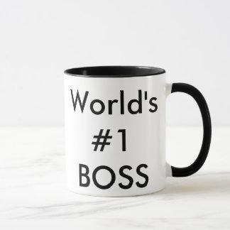 world's #1 boss mug