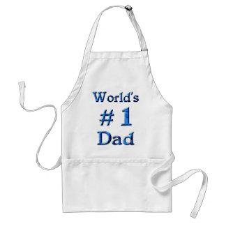 World's #1 Dad Apron