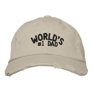 World's #1 Dad Baseball Cap