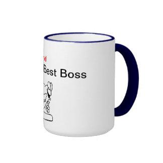 World's 2nd Best Boss Mug